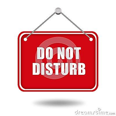 Free Do Not Disturb Stock Photo - 38840950