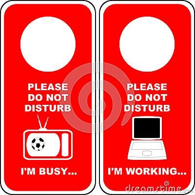 Do not Disturb [4]
