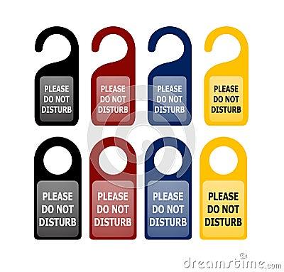 Do not disturb cards