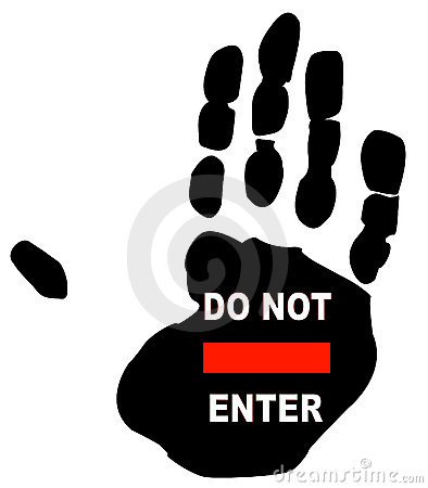 Free Do Not Enter Stock Image - 6133261