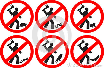 Do not kill animals