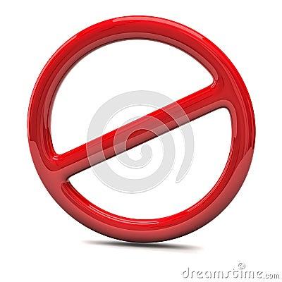 Free Do Not Warning Sign Stock Photo - 18370130