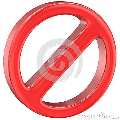 Free Do Not Warning Sign Stock Photo - 40100640