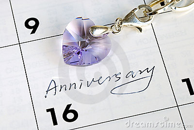 Do you remember today is our anniversary?