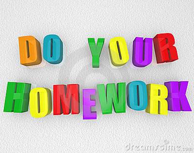 Do Your Homework - Colorful Magnets