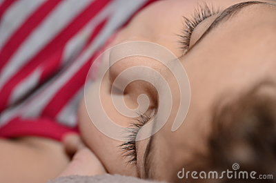 Doce do sono do miúdo
