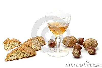 Doces e vinho