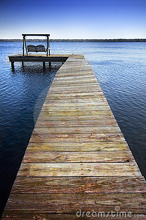 Dock and chairs