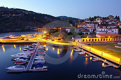 Dock in Douro River