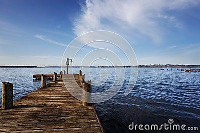 Dock on Lake Washington