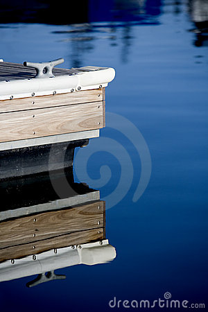 Dock at marina