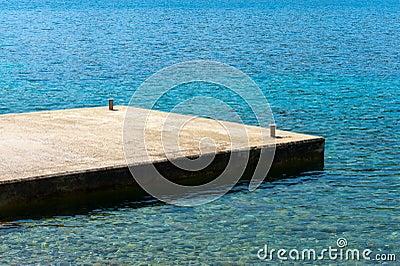 Dock Mediterranean Beach