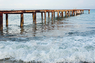 Dock on the Ocean