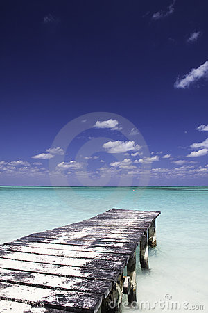 Dock in Paradise