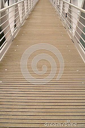 Dock ramp abstract