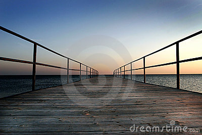 Dock by the sea