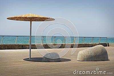 The dock in Tel Aviv