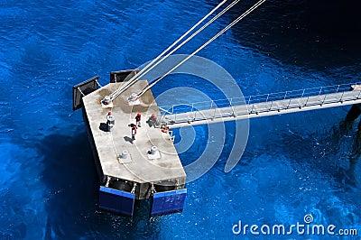 Dock Workers in Grand Turk Island
