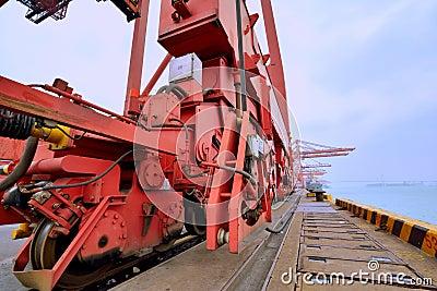 Dock in Xiamen, Fujian, China