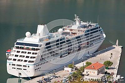 Docked Cruise Liner