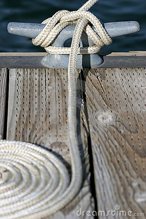 Docked at the marina