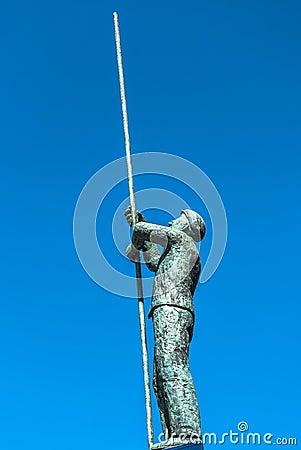 Docker Statue