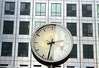 Docklands clocks