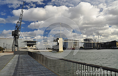 Docklands, Excel London, Great Britain