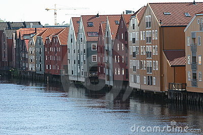 The docks of Trondheim
