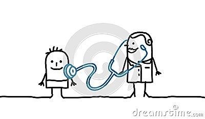 Docteur et enfant