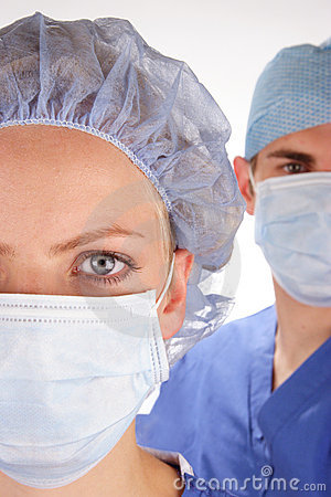 Free Doctor And Nurse 4 Stock Photo - 1598960