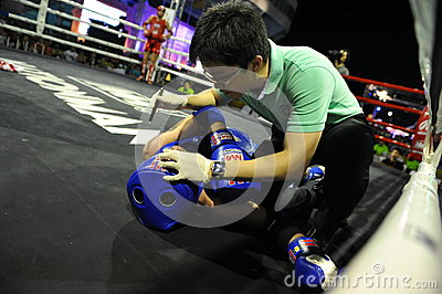 Amateur Muaythai World Championships Editorial Stock Photo