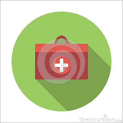Free Doctor Bag Flat Icon Royalty Free Stock Photo - 79848985