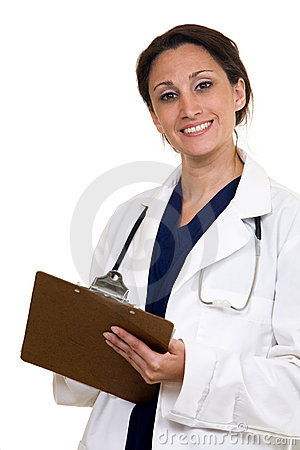 Free Doctor Charting Stock Photo - 2642200