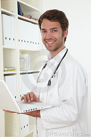 Doctor in clinic