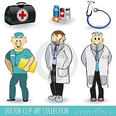 Doctor clip art collection