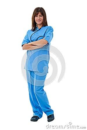 Doctor de sexo femenino