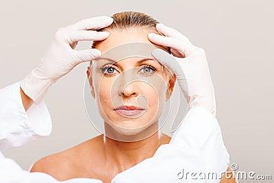 Senior cosmetic surgery