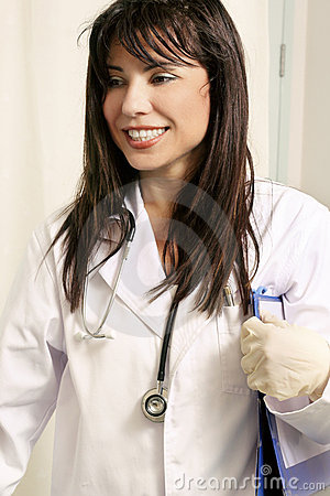 Free Doctor Doing The Rounds Stock Images - 70944