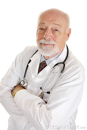 Free Doctor - Face Of Experience Stock Image - 4979821
