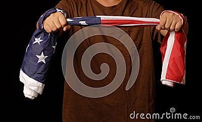 Doctor flag  to debate healthcare reform