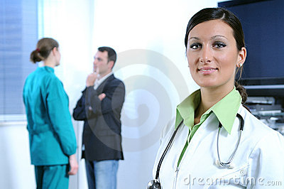doctor and health service