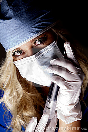 Doctor needle