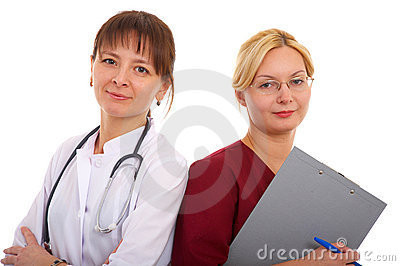 Doctor And Nurse Royalty Free Stock Photo - Image: 13429655