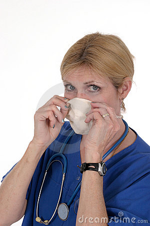 Doctor or Nurse with Surgical Mask 3