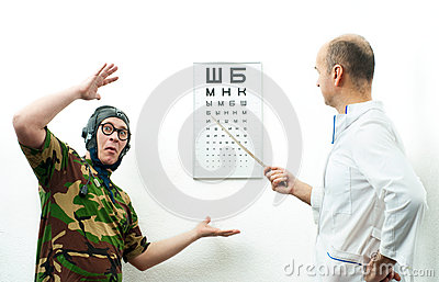 Doctor and patient funny