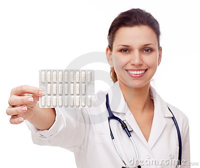 Doctor proposes a pill.