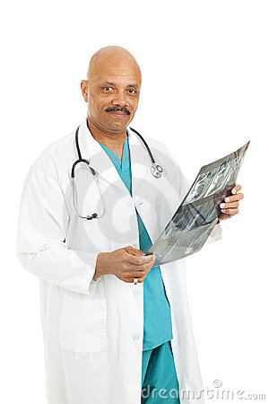 Doctor Reading Xray Results