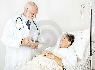 Doctor Reviews Medical History