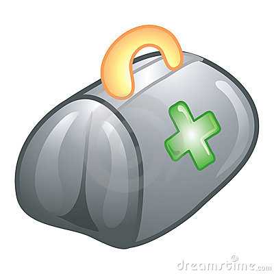 Doctor s bag icon